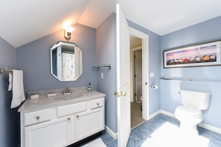 North Truro Cape Cod vacation rental - Second floor bathroom
