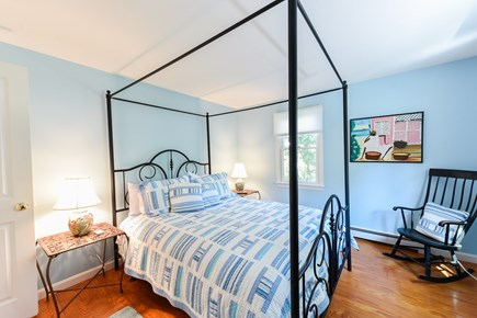 North Truro Cape Cod vacation rental - First bedroom with window a/c and large closet