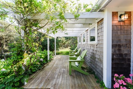 North Truro Cape Cod vacation rental - Beautiful Front Porch for reading and conversation.