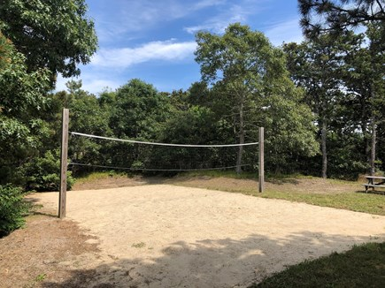 North Truro Cape Cod vacation rental - Beach sand volleyball/badminton court and spacious yard!