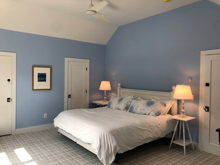 North Truro Cape Cod vacation rental - Spacious, bright master bedroom with cathedral ceiling