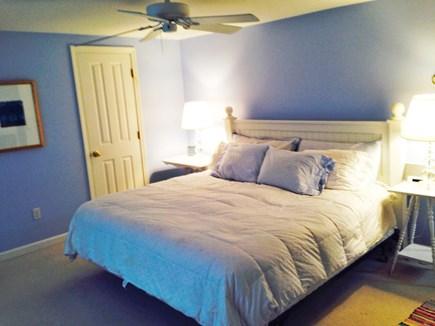 North Truro Cape Cod vacation rental - Spacious Master bedroom upstairs w/ central a/c, desk & printer.