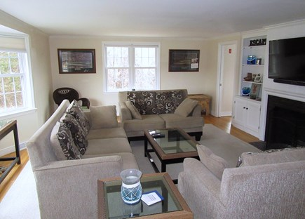 Dennis Cape Cod vacation rental - Lovely living room....