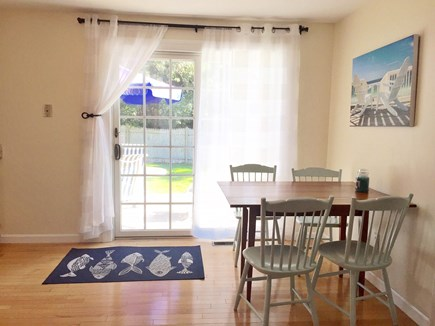 Yarmouthport Cape Cod vacation rental - Eat in kitchen area