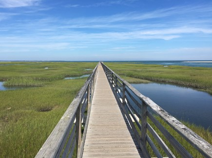 Yarmouthport Cape Cod vacation rental - Grey's beach boardwalk 1.5 miles away