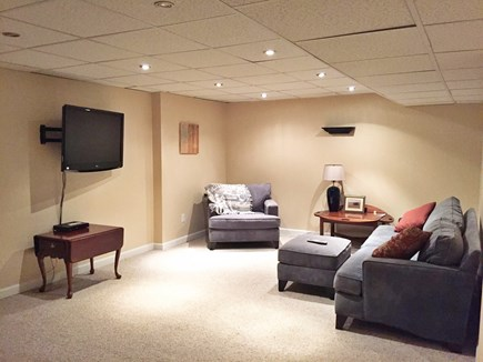 Yarmouthport Cape Cod vacation rental - Central AC tv/entertainment room