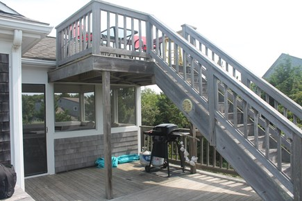 Eastham Cape Cod vacation rental - Upper Deck