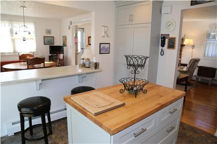 Sandwich Cape Cod vacation rental - Counter top dining in Kitchen.