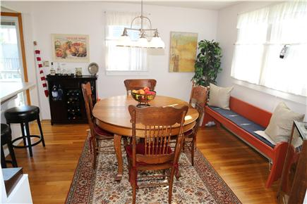 Sandwich Cape Cod vacation rental - Separate Dining Room also has countertop stools.