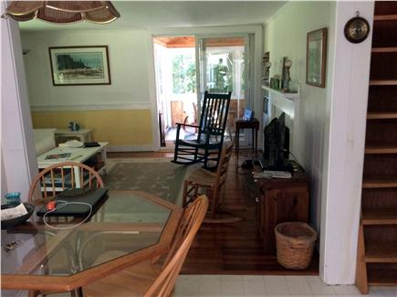 Harwichport Cape Cod vacation rental - Floor through to screened in porch