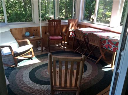Harwichport Cape Cod vacation rental - Screened in porch