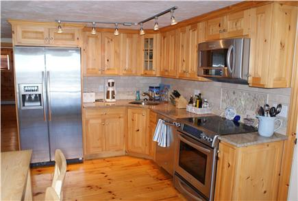 Sagamore Beach Sagamore Beach vacation rental - Fully equipped Kitchen, with sliders to the Oceanside deck,