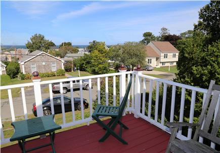 Sandwich Cape Cod vacation rental - Ocean views over Cape Cod Bay from upper deck