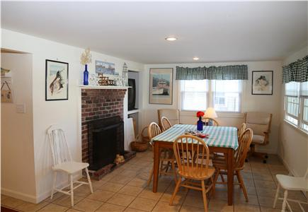 Sandwich Cape Cod vacation rental - Separate Dining Room.