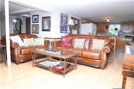East Sandwich Cape Cod vacation rental - Lower level Den, perfect for movie night!