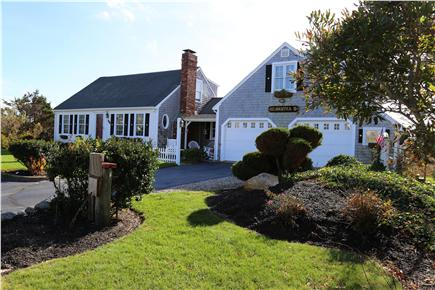 East Sandwich Cape Cod vacation rental - Front of house from the roadside.