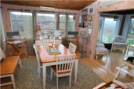 East Sandwich Cape Cod vacation rental - Second sunroom functions as the Dining Room.