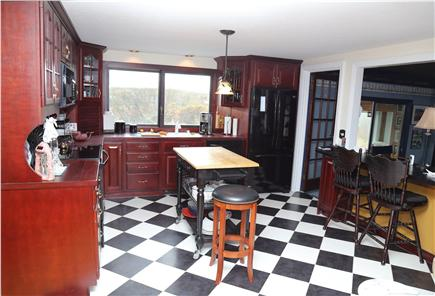 East Sandwich Cape Cod vacation rental - Fantastic Kitchen with fun décor.