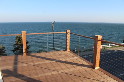 Falmouth Heights Cape Cod vacation rental - New 2nd Floor Deck with Spectacular views