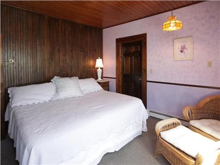 Falmouth Heights Cape Cod vacation rental - King bedroom 1 with en suite and  ocean view
