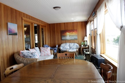 Falmouth Heights Cape Cod vacation rental - Sun Room with views across Nantucket Sound to Martha's Vineyard