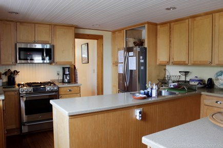 Falmouth Heights Cape Cod vacation rental - Updated kitchen with new appliances