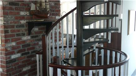 Wellfleet Cape Cod vacation rental - Circular Stairs