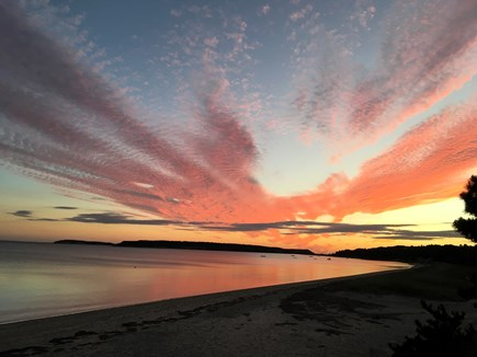 Wellfleet Cape Cod vacation rental - It's been a Long Day