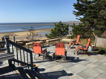 Wellfleet Cape Cod vacation rental - Deck looking West