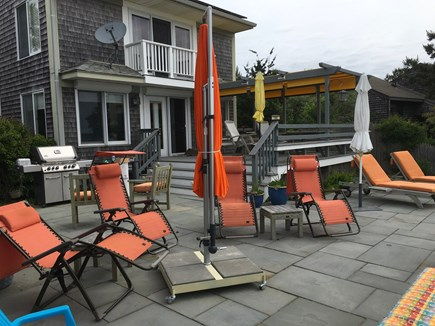 Wellfleet Cape Cod vacation rental - Relaxing deck