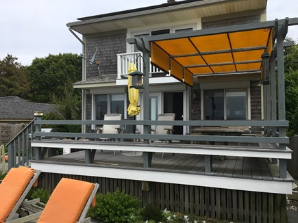 Wellfleet Cape Cod vacation rental - Decks on both levels