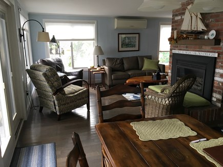 Wellfleet Cape Cod vacation rental - Family Room & Dinning Room