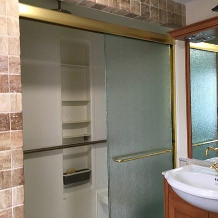 Wellfleet Cape Cod vacation rental - New Master Shower