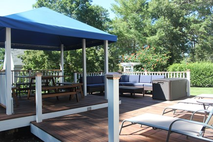 Centerville Centerville vacation rental - Large Deck