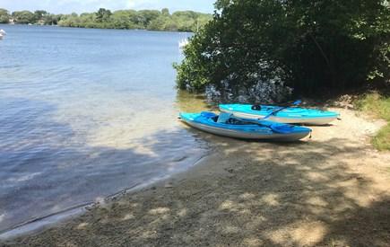 Centerville Centerville vacation rental - Private neighborhood beach on Lake Wequaquet.
