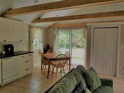 Manomet Manomet vacation rental - Dining area with deck beyond thru sliding door
