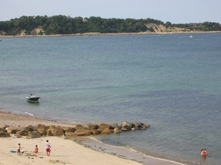 Manomet Manomet vacation rental - Manomet Point in distance from beach at end of road