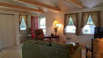 Manomet Manomet vacation rental - Open living room from kitchen area