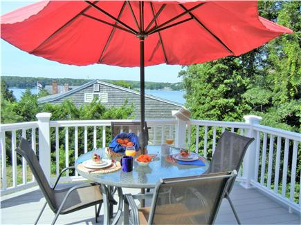 Yarmouth Port Cape Cod vacation rental - View from deck overlooking Follins Pond