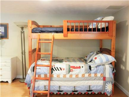 Yarmouth Port Cape Cod vacation rental - Lower Level sleeps 5, bunk bed  base is a double bed.