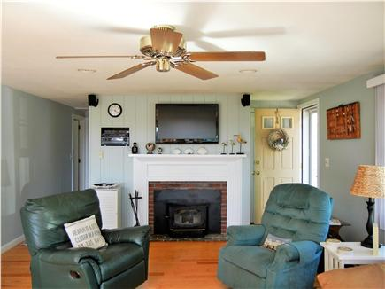 Yarmouth Port Cape Cod vacation rental - Woodstove can be used during off season