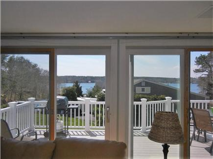 Yarmouth Port Cape Cod vacation rental - Living room view through the sliders