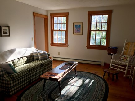South Chatham Cape Cod vacation rental - 2nd living room is a quiet reading room.  Queen sleep sofa.