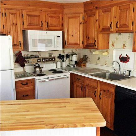 Brewster Cape Cod vacation rental - Kitchen. 13ft by 13ft (Not all in picture)