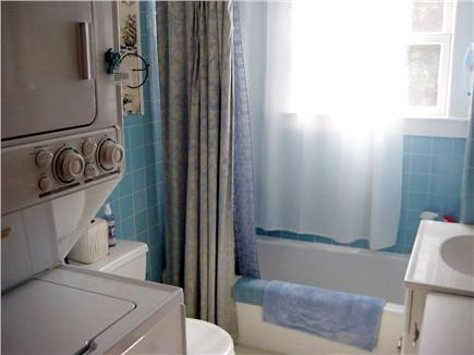 Eastham Cape Cod vacation rental - Full bathroom with washer/dryer