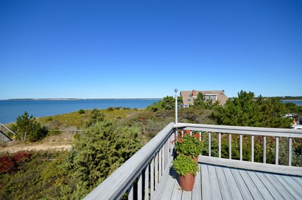 Wellfleet Cape Cod vacation rental - View looking right off deck