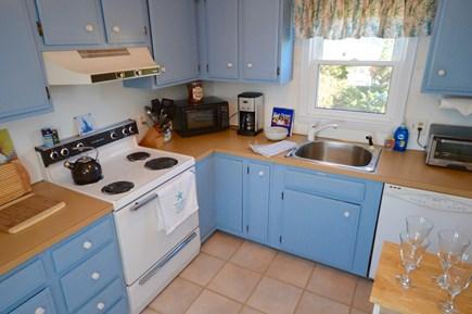 Wellfleet Cape Cod vacation rental - Kitchen on upper level