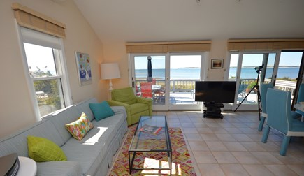 Wellfleet Cape Cod vacation rental - living/ dining area with expansive views