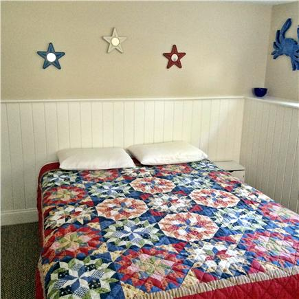 Dennis Cape Cod vacation rental - Private Lower Queen BR5, fan/light, bureau, USB (NO closet)