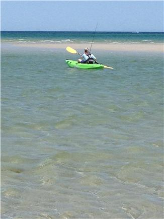 Dennis Cape Cod vacation rental - Sand bars for safe swimming, NO kayaking, NO floats, NO fishing